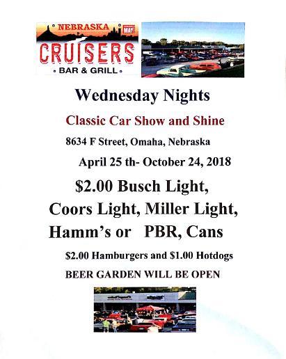 Cruisers Bar And Grill Omaha - Omaha car show